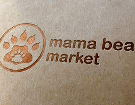 Velidesign tarafından Mama Bear Market Logo Design için no 54