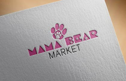 sameer6292 tarafından Mama Bear Market Logo Design için no 50