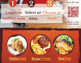 #22 untuk Design a Flyer for a new online food ordering and delivery service oleh Mach5Systems