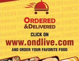 #14 untuk Design a Flyer for a new online food ordering and delivery service oleh neerajdadheech