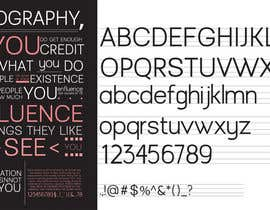 #6 for Create a font by sandrasreckovic