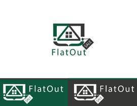 #7 untuk Design a Logo for FlatOut Company oleh ShanAliMaknojia