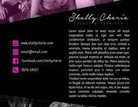 #33 untuk Design a Flyer & Logo for my events planning business oleh rafaespm