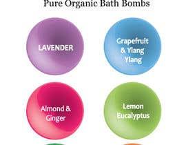 #9 untuk Bath Bomb Set Box Art oleh lilstar