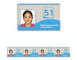 """#60 untuk Simple design of a student """"card"""" oleh KhawarAbbaskhan"""