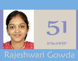 "#85 untuk Simple design of a student ""card"" oleh ksaurav75"