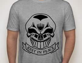 #80 untuk Design a Skull for t-shirt design oleh KaimShaw