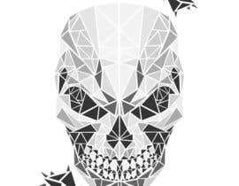 #109 untuk Design a Skull for t-shirt design oleh creationsbymaria