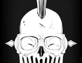 #68 untuk Design a Skull for t-shirt design oleh Krazeel