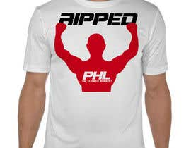 ContestReaper tarafından T-Shirt design for a fitness class studio in Philadelphia için no 29