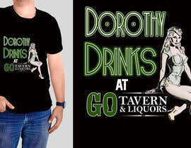 #44 untuk Design a T-Shirt for GO Tavern oleh sandrasreckovic