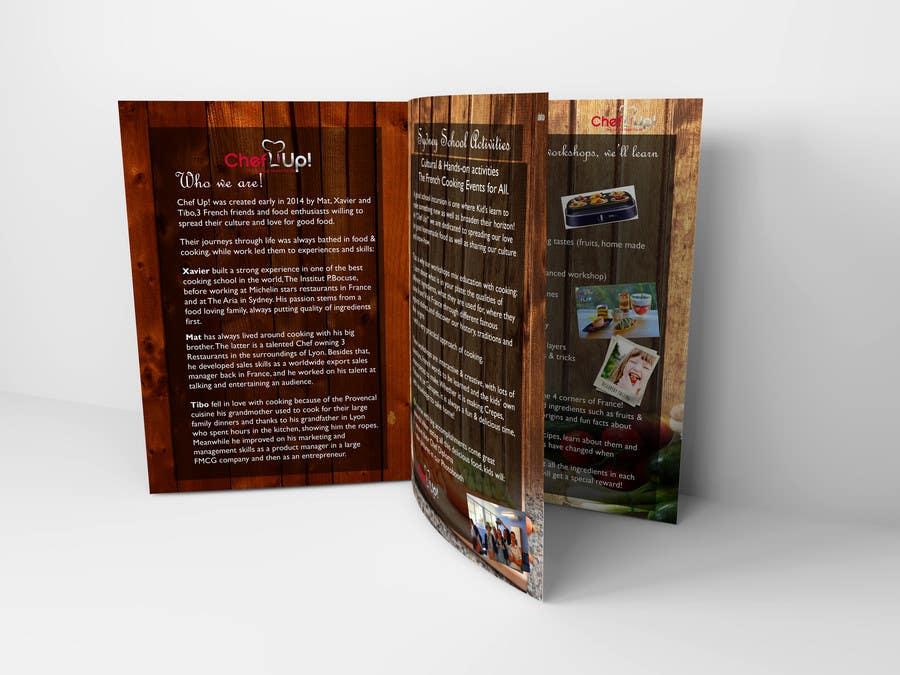 Penyertaan Peraduan #6 untuk Design a Brochure for School activities for Kids