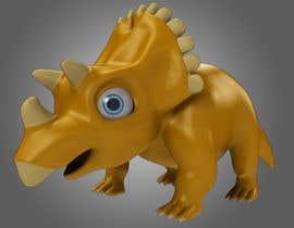 Ke8c9 tarafından Do some 3D Modelling for  a cute baby dinosaur için no 9