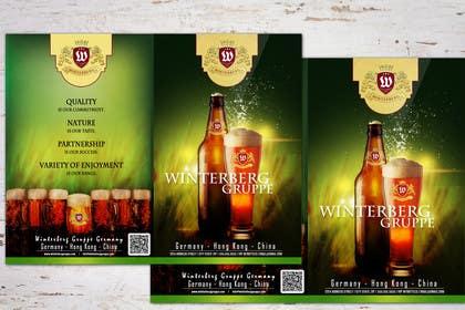 #4 untuk Design a Brochure for a Beer Brand oleh LeeniDesigns