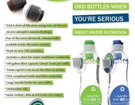 #21 untuk Design a Flyer for OKO H20 products oleh ashusrivastava