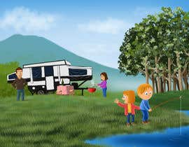 studiokimus tarafından Illustrate Something for Children's Book - camping theme için no 21
