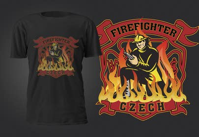 #7 for Navrhnout tričko for  FireFashion (firefighter theme) by murtalawork