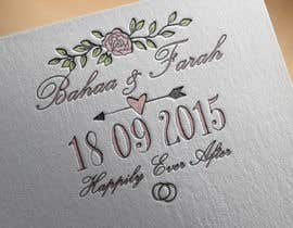 #21 untuk Design a Logo for Wedding Card/FB event (2 Names logo) oleh ranco81