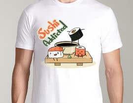 #19 untuk Sushi Design for T-Shirt oleh ElZorg