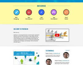#7 for Design a Website Mockup by helixnebula2010