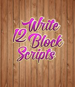 #23 untuk Write12BlockScripts oleh mariusadrianrusu