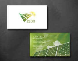 #8 untuk Design some Business Cards for BLISS Solar oleh SarahDar