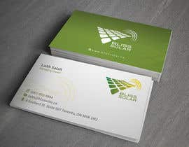 #11 untuk Design some Business Cards for BLISS Solar oleh toyz86