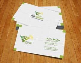 #23 untuk Design some Business Cards for BLISS Solar oleh shabihasultana15
