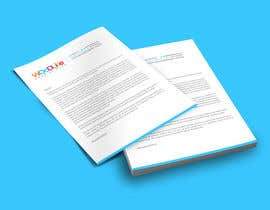 #10 untuk Design a letterhead and business cards for a art company oleh Fgny85