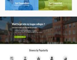 satriadesigner tarafından Design a Website Mockup for MeetUniv.Com için no 12