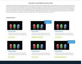 #1 untuk Design a Website Mockup forhttp://extremeledlightz.ca/ oleh dusanevipul