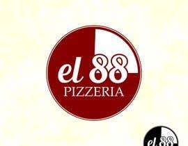 #150 untuk Design a Logo for Pizzeria El 88 oleh Hayesnch