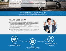 #24 untuk Design a landing page Mockup for Car Quotes Online oleh phamtech211