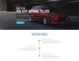 krasotina tarafından Design a landing page Mockup for Car Quotes Online için no 29