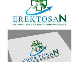 #43 untuk Design of a Logo for Natural Viagra ED Nutrition with Brand Name EREKTOSAN oleh sauravarts