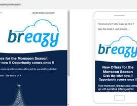 #1 untuk Design Our Email Template in MailChimp oleh sumeet00