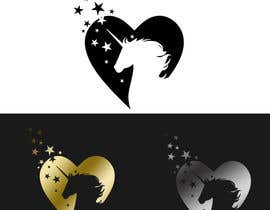 galinah tarafından Design, illustrate or art work - Metallic temporary tattoo flash sheets Unicorns and love için no 15