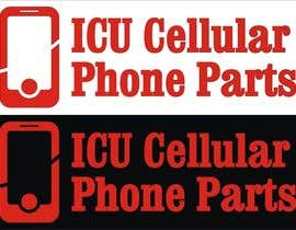 #14 untuk Design a Logo for ICU Cellular Phone Parts oleh BlajTeodorMarius