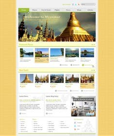 #33 untuk Design Website for Travel Agency oleh baddesigner