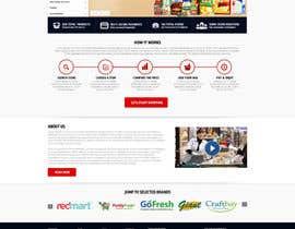 nikil02an tarafından Design a Website Mockup for an existing site için no 22