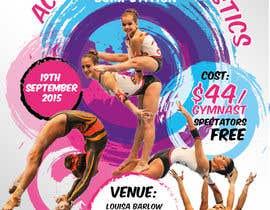 #5 untuk Design a Flyer for An Acrobatic Gymnastics Invitational Competition oleh vyncadq