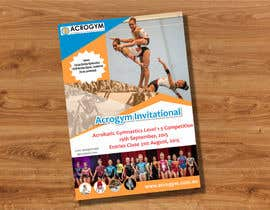 #12 untuk Design a Flyer for An Acrobatic Gymnastics Invitational Competition oleh mgliviu