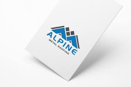 sdartdesign tarafından Design a Logo for Alpine Metal Roofing için no 51