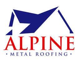 guilhermeconejo tarafından Design a Logo for Alpine Metal Roofing için no 10