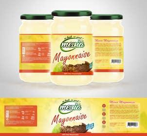 #23 untuk Design a label for Mayonnaise in jars oleh RainMQ