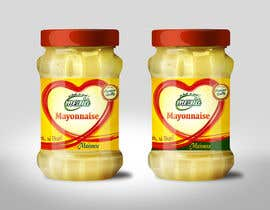 #27 untuk Design a label for Mayonnaise in jars oleh Med7008