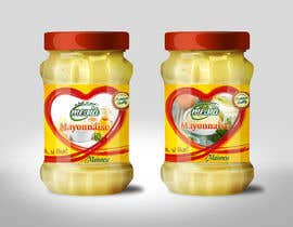 #28 for Design a label for Mayonnaise in jars by Med7008