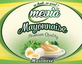 #31 for Design a label for Mayonnaise in jars by damirruff86