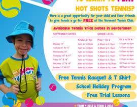#24 untuk Design a Flyer for Tennis Club oleh cristinapaduraru