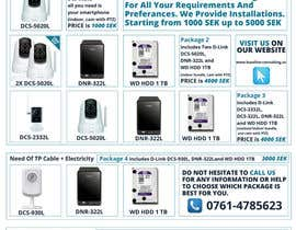 #7 untuk Design an AD/Flyer for IP camera bundles oleh ranco81